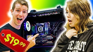 I Sold Her this $5000 Gaming PC for $20!