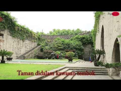 (Nanjing Travel #2) Tembok bandar china/Nanjing city wall