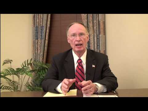 Dr Robert Bentley's Response to the State of the Union Address