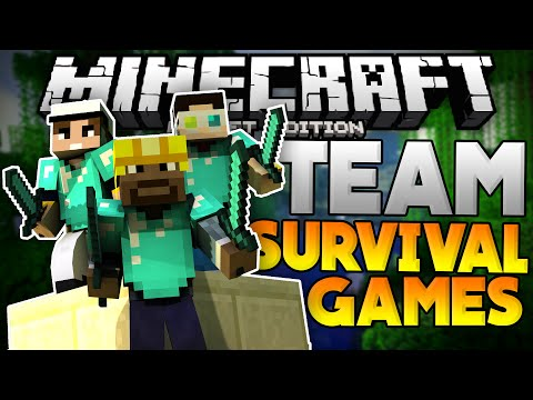 THE BEST TO EVER LIVE!?!?! - Team Survival Games on LBSG - Minecraft PE (Pocket Edition)