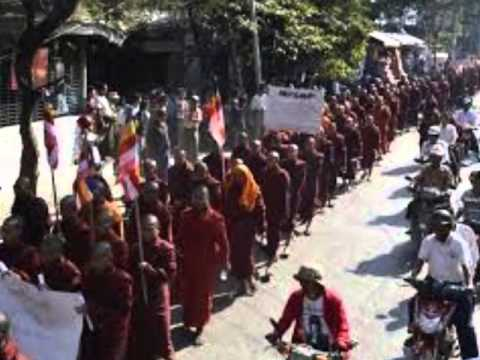 Hundreds protest against China backed mine in Myanmar a report