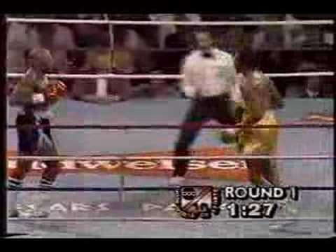Hagler vs Hearns Round 1 Video