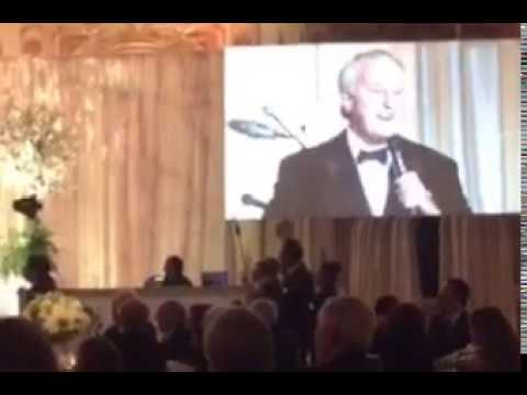 Brian Mulroney sings