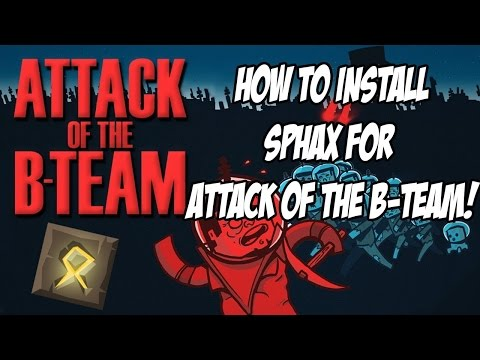 Get Sphax For Attack Of The B-Team! [Tutorial] [1.6.4]