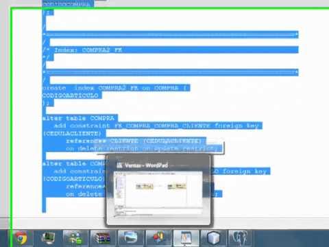 3.2 Diseño de Software: Modelo Físico y generar Base de datos