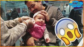 BABY GETS HER EARS PIERCED | Baby's Pierced Ears