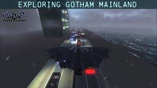 FR MOD; Batman; Arkham Origins; Exploring Gotham City's Mainland