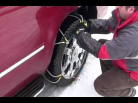 Z Chain  Cable Tire Traction Chains Installation and Features Review- SCC