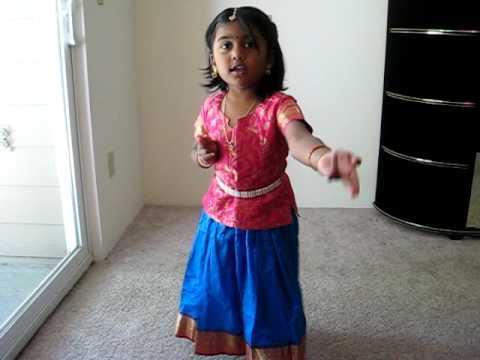 Bharatanatyam Dance Steps For Kids-2 video