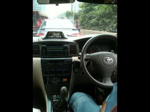 Crazy Taxi driver in Bangkok