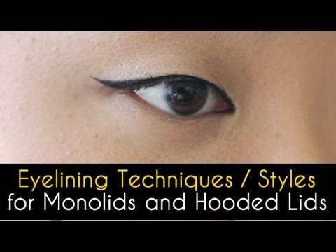 Eyelining Styles (for Monolids and Hooded Lids)