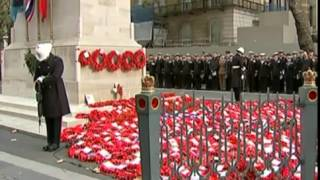 The Last Post is played at remembrance...