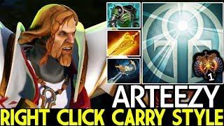 Arteezy [Omniknight] Crazy Top 1 MMR Right Click Carry Build 7.22 Dota 2