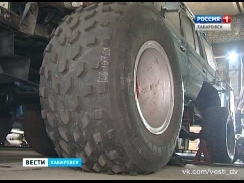 Вести-Хабаровск. Запрет на тюнинг внедорожников