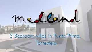 Detached Villas in Punta Prima, Torrevieja