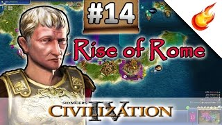 The Peace With Greece - RISE OF ROME SCENARIO - CIVILIZATION 4 Warlords - Part 14
