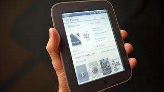 Barnes & Noble Nook Simple Touch with GlowLight_ Unboxing & Review