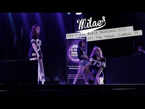 Milae3 @229 The Venue, London, KBS World Festival 2015