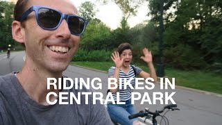 Riding Bikes in Central Park | New York City