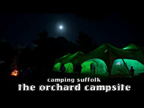 camping in suffolk - the orchard campsite