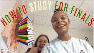 how to study for finals// VLOGMAS DAY 13