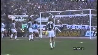 contro la Juventus, stagione 1985-86