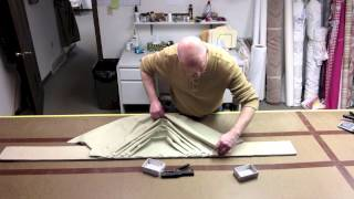How To Pleat A Factory Direct Swag
