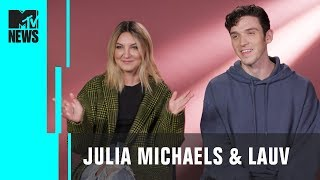 Julia Michaels Lauv On Their Collab 39 There 39 S No Way 39 Connecting W Fans Mtv News
