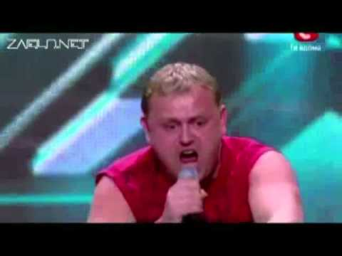 X Factor2 Ukraine Владимир Герасименко   Чупакабра