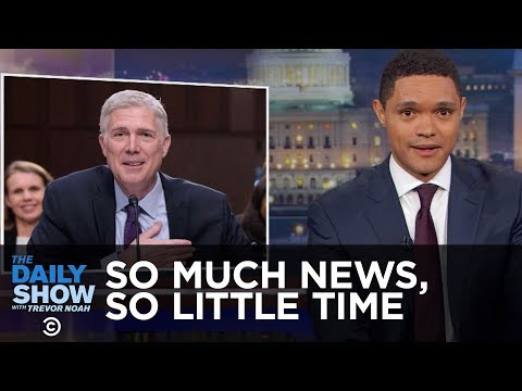 So Much News, So Little Time: The Daily Show