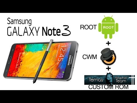 Tutorial Root+CWM Recovery+ Custom Rom en GalaxyNote 3