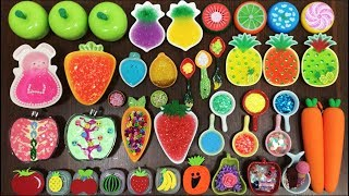 MIXING RANDOM THINGS INTO FRUITS SLIME || MOST SATISFYING SLIME VIDEO || WONDERFUL SLIME
