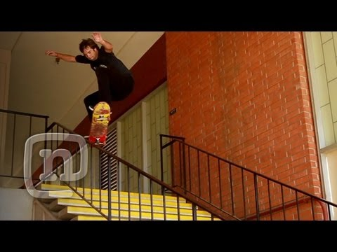 Gnarly Rail Session With Skateboarder Ben Gardner: Raw N' Real