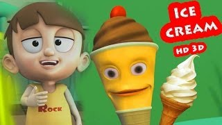 I For Ice Cream || Nursey Rhymes Collection For Kids