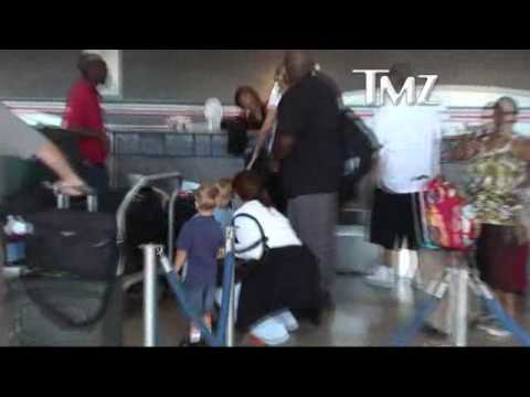 Sean preston and Jayden james at LAX- august 09