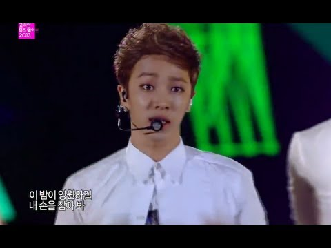 [hot] Beast - Beautiful Night, 비스트 - 아름다운 밤이야, Incheon Korean Music Wave 20130918 video