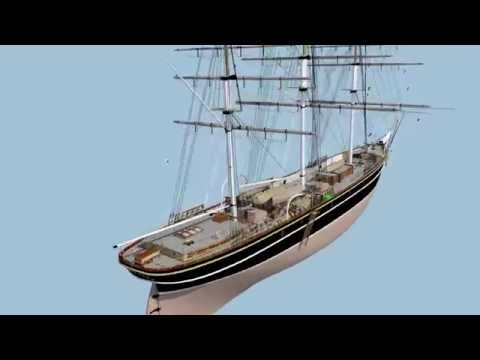 Clipper Cutty Sark is going to sea again. The exact replica will be built by volunteer team