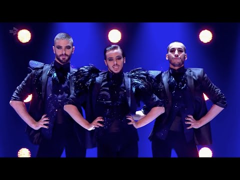 Yanis Marshall, Arnaud & Mehdi. Britains Got Talent