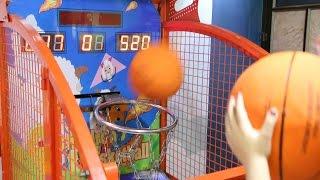 Basketball Challenge Indoor Basketball Game for Kids Part 2