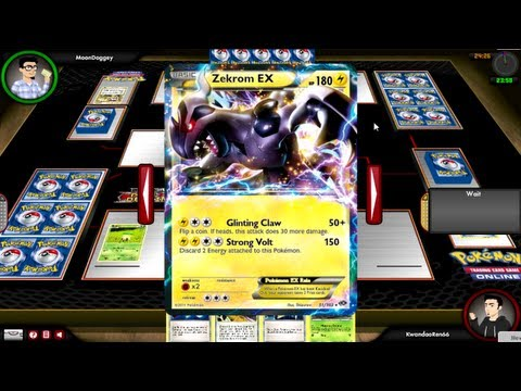 Pokemon TCG Online vs MoonDoggey [Pack Opening NxD x10]