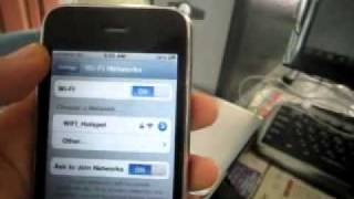 how to Fix  iphone 3g/3gs WIFI 100% workin n i gurantee.flv
