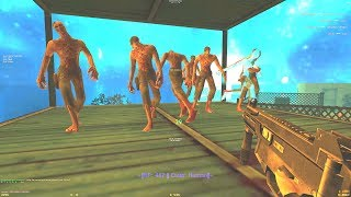 Counter-Strike: Zombie Escape Mod - ze_ATIX_Panic_v1 (4K UHD) on MILFEscape