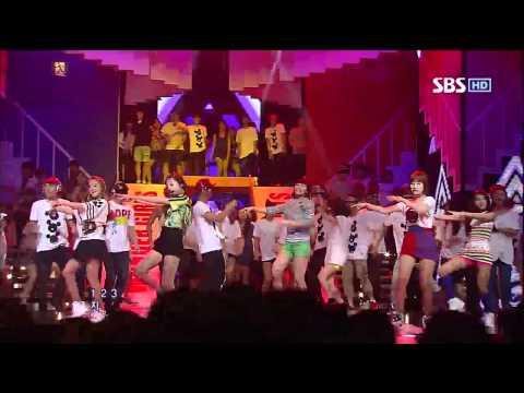 Wonder Girls [like This] sbs Inkigayo 인기가요 20120610 video