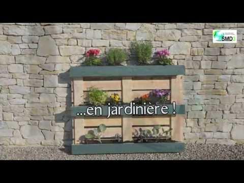 Jardiniere En Palette De Bois Trendy Amazing Jardiniere En Palette