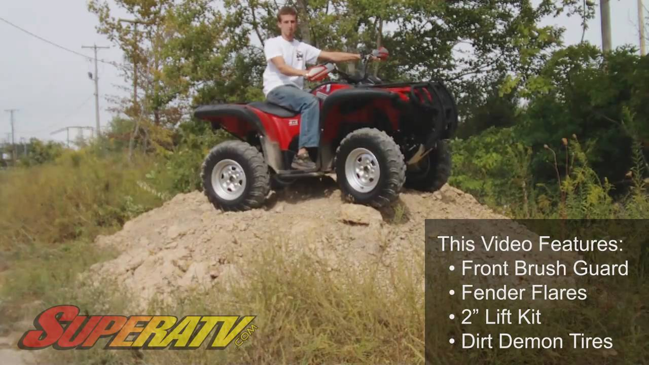 Yamaha Atv Accessories Grizzly Yamaha Grizzly 700 ATV Accessories - Super ATV - YouTube