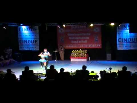 Jana Köder & Alexander Vesel - Oberbayerische Meisterschaft 2012