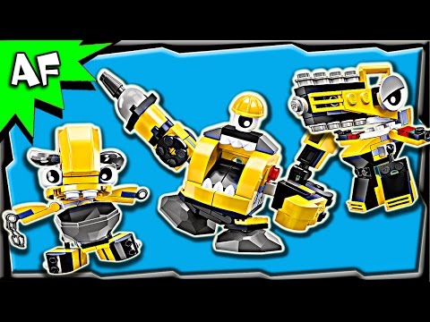 Lego Mixels WELDOS Series 6 Kramm. Forx. Wuzzo Build Review 41545. 41546. 41547