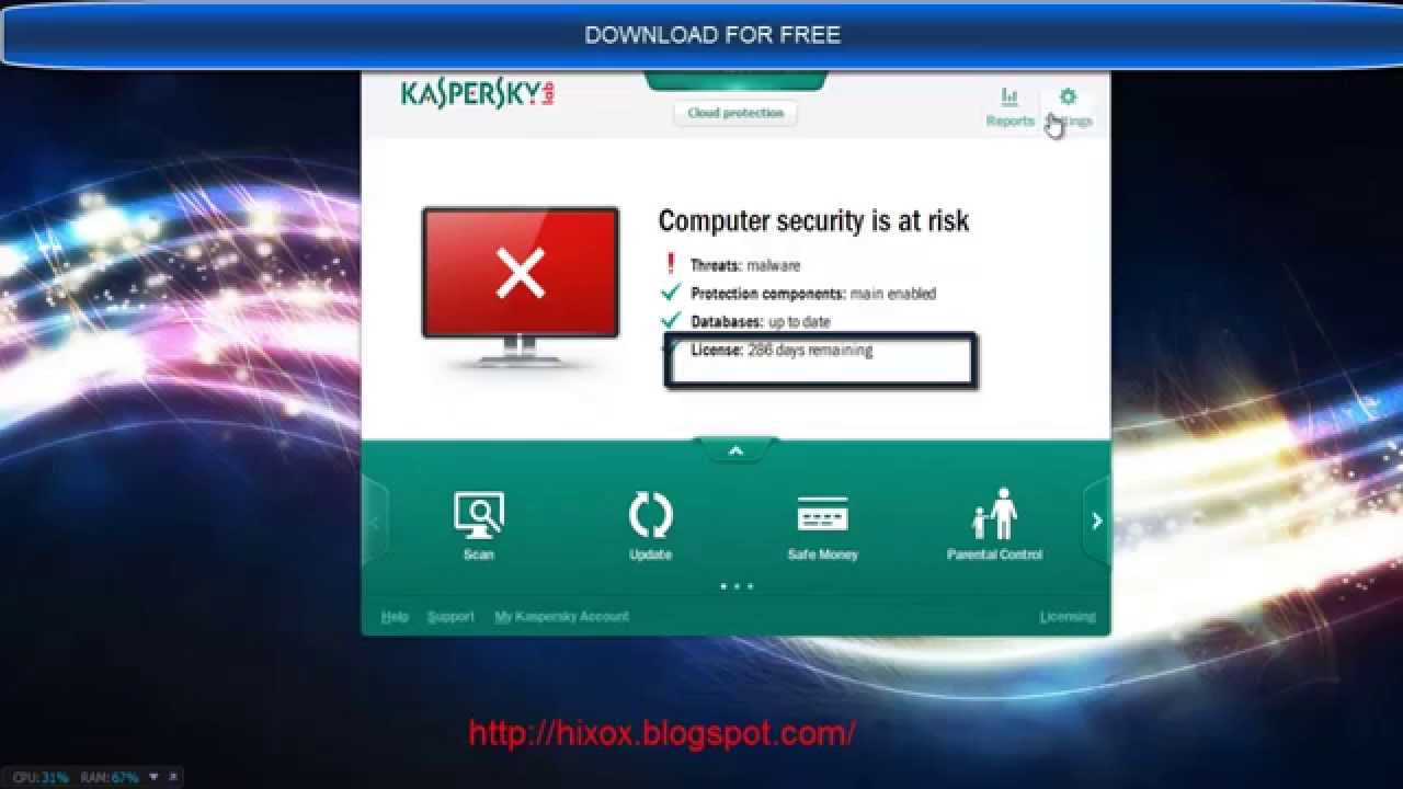 Download Kaspersky Anti-Virus 2014 and Protect your PC against viruses, Try
