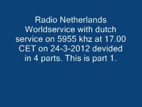 Radio Netherlands stop transmitting with dutch service on shortwave at 11-5-2012 - part 1