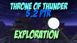 FULL Emersive Tour - 5.2 New Raid Throne of Thunder - Ft. Meoni!